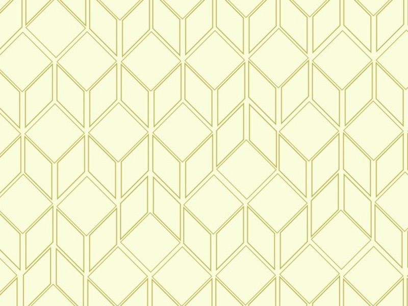 Wallpaper with choice of geometric patterns and colours