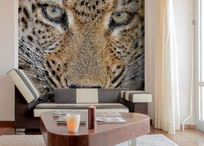 Wallpaper Leopard Head