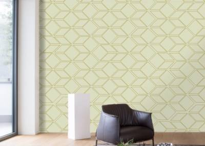 Wallpaper with geometric pattern